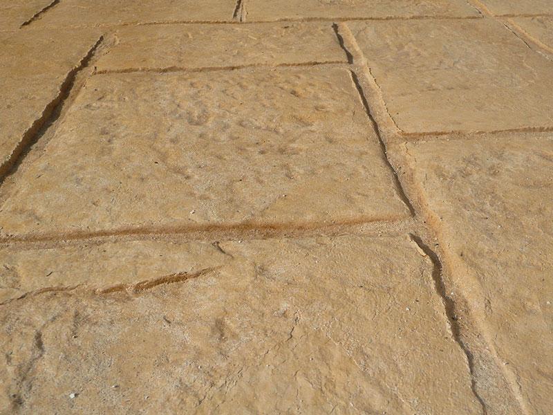 Dettaglio di cemento stampato